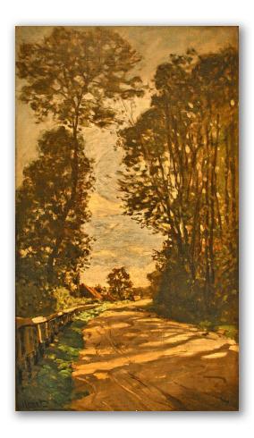 Road to the Saint Simeon Farm