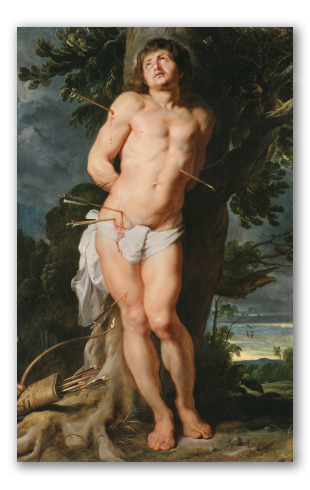 """San Sebastiano"" di Rubens"