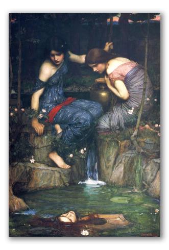 Le Ninfe Trovano la Testa di Orfeo