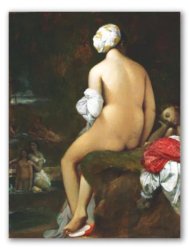 """""""La Bagnante di Valpinçon"""" di Ingres"""