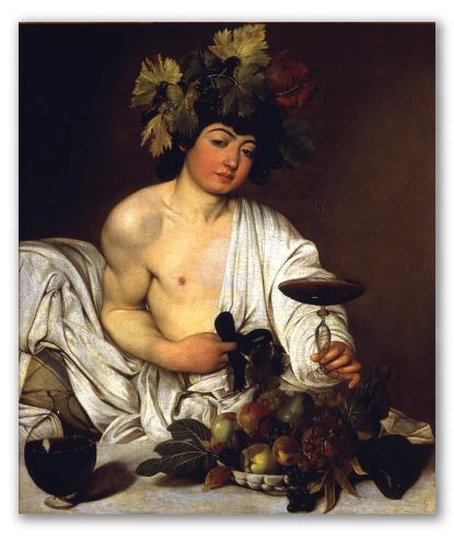 """""""Bacco"""" di Caravaggio"""