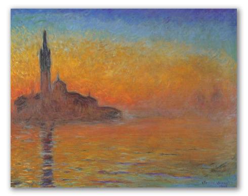 San Giorgio Maggiore al Crepuscolo