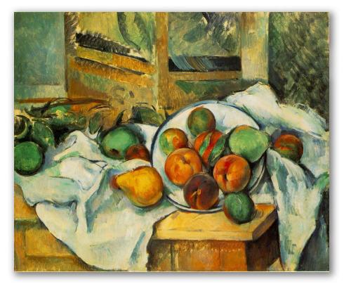 Tavolo, Tovaglia e Frutta