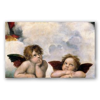 Angeli di Raffaello (Madonna Sistina)