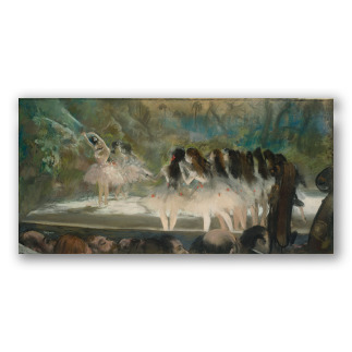 """Balletto all'Opera di Parigi"" di Degas"