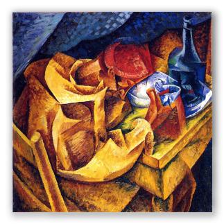 Quadri futuristi, copie dei dipinti italiani, falsi d\'autore.