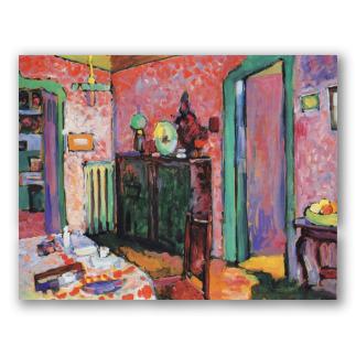 Quadri di kandinsky dipinti a olio espressionismo astratto - Quadri per sala da pranzo ...