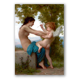Ragazza si Difende da Eros