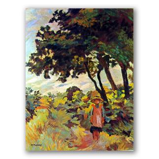 Bambina nei Campi - Mario Puccini