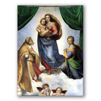 Madonna Sistina, Raffaello