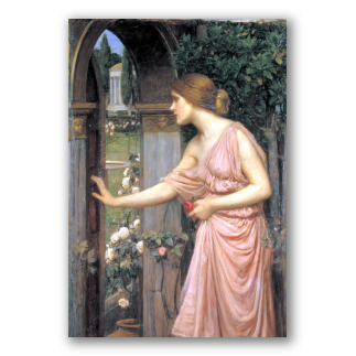 Psiche Apre la Porta del Giardino di Cupido