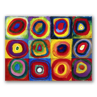 Studio sul Colore con Quadrati