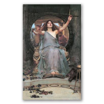 Circe Offre la Coppa a Ulisse