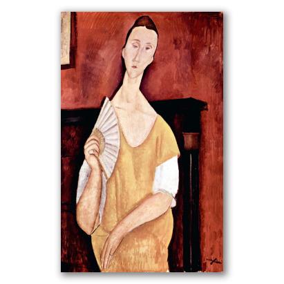 Ritratto di Lunia Czechowska con Ventaglio